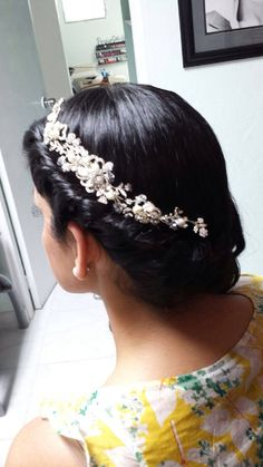 Pretty Hairstyles, Wedding Hairstyles, Great Hair, Wedding Accessories, Stiles, Beauty, Jewelry, Celestial, Fashion