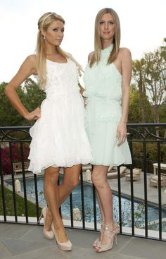Paris & Nicky Hilton Kathy Hilton's Social Cocktail Party March 14-2012