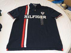 Mens Tommy Hilfiger Polo shirt XXL 7880974 Navy Blazer 416 Classic Fit NEW #TommyHilfiger #polo