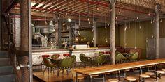 """Truth"" – Steampunk inspired coffee house by Haldane Martin   dexignia"