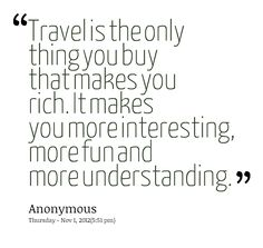 travel is the thing you buy - Google Search