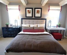 Mismatched nightstands