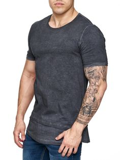Nice slim fit / muscle fitted Ripped T-shirt IMPORTANT: Please use the size chart to pick the correct size for you. * FORM / BODY / MUSCLE FITTED * 100% COTTON