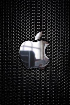 metal apple iphone logo - Bing images