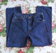 Levi's Men Blue 517 Denim Jeans Size 35X32 #Levis #BootCut