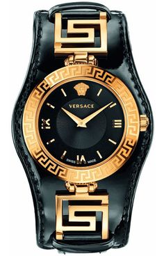 32f1174d2618 Versace Women s VQM050015 Vanitas Micro Analog Display Swiss Quartz Gold  Watch     To view further for this item, visit the im…   Versace watches  women ...