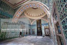 Room Inside Imperial Harem, Topkapi Palace, Istanbul, Turkey ...