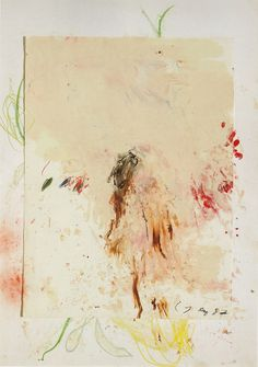 abstract by Cy Twombly