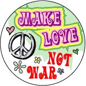 Je suis l'art: Peace, Love and Understanding.