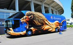 Dinamo football incredible team bus