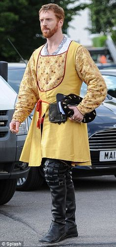 Damian Lewis as Henry VIII.