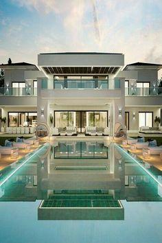 House Luxury Exterior Mansions 64 New Ideas Arquitectura Wallpaper, Dream Home Design, House Design, Design Design, Design Ideas, Dream Mansion, Mansion Interior, Luxury Interior, Interior Design