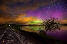 Northern Lights, Unity, Maine USA
