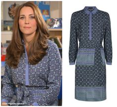 The Duchess of Cambridge supports the UK's first ever Mental Health Week with this 2 minute video.    The Duchess wears a silk dress by Jaeger - details all in the blog post:      http://katemiddletonstyle.org/duchess-cambridge-supports-uks-first-childrens-mental-health-week-new-video/