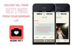 Collect Photos From Your Guests' Phones with Wedding Party