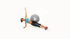 More than your standard side plank, these ab exercises challenge your core in new ways.