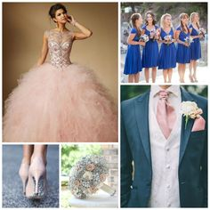 Blue and Pink Quinceanera   Quinceanera Ideas  
