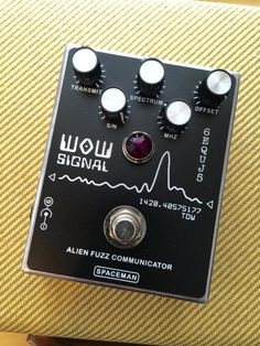 Spaceman Effects Wow Signal Fuzz Pedal