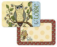 Placemat Wise Owl