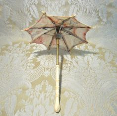 Parasol - Miniature Antique in Pastel Tones for French Fashion