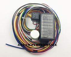 8 best hotrod wiring images on pinterest hot rods cable tie and rh pinterest com Painless Wiring Harness EZ Wiring 21 Circuit Harness