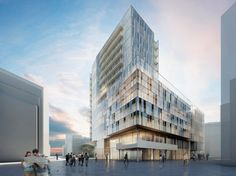 Richard Meier to Design New Mixed-Use Project in Hamburg's HafenCity   Rendering…