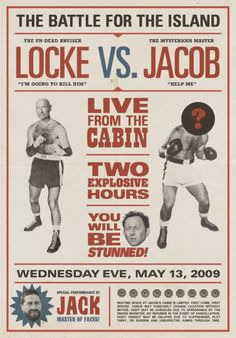 Locke vs. Jacob, Live From The Cabin