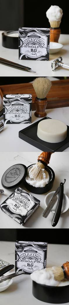 Our NEW commando shaving soap generates a creamy lather of remarkable density to blanket the face in nourishing protection. It imparts necessary hydration while it lubricates, promoting optimum razor passage, boosting the skin's post-shave recovery and refining its overall moisture quotient. Reclaim your morning ritual, and make every shave a special occasion, Your face will appreciate it!