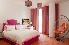 hot pink & orange by: amanda nisbet