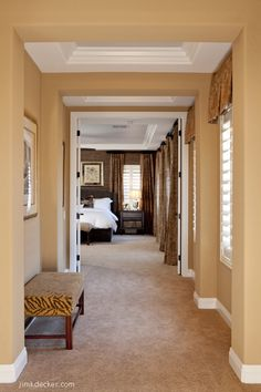 Hallway to master bedroom - Maderia Canyon, NV