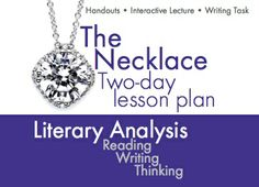 the necklace short story annotation