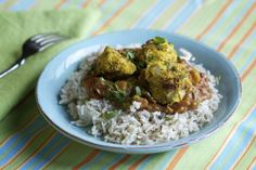 """Garbanzo beans give these Curried No-Meat Balls a punch of protein. From Robin Robertson's """"Vegan Fire and Spice."""" Highly recommended."""