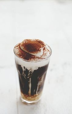 Vegan Hazelnut Iced Latte