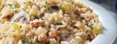 Minute® - Quick Brown Rice and Mushroom Pilaf - We can help.®