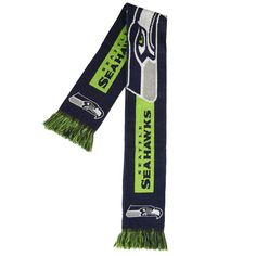 Seattle Seahawks NFL Football Big Logo Scarf