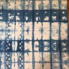 Overdyed Shibori Fabric by DyedHeaven on Etsy