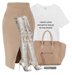 "Original Pin: ""Untitled #132"" by itsherpersona ❤ liked on Polyvore featuring CÉLINE and Chanel"