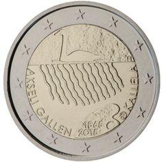 Finnish Commemorative Coin of 2015 Euro Coins, Commemorative Coins, World Coins, Coin Collecting, Inner Circle, Underworld, Swan, Illustrations, Blazer