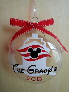 Disney cruise ornament                                                                                                                                                                                 More