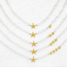 Look what I found at UncommonGoods: My Lucky Stars Necklace for $72.00 - 110.00