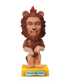 Take a look at this Cowardly Lion Wacky Wobbler by Funko on #zulily today!