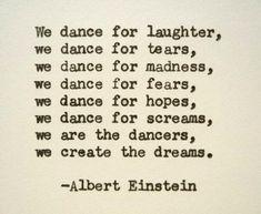 ALBERT EINSTEIN Hand Typed Quote Made with Vintage Typewriter Albert Einstein Quote