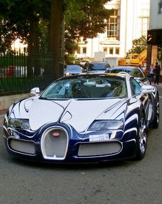 Bugatti Veyron Lu0027Or Blanc · Cartoon ArtFast CarsExotic ...