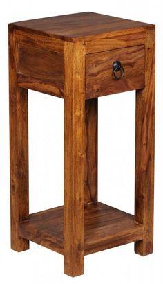 FineBuy Beistelltisch 3er Set Massivholz Sheesham Wohnzimmer Tisch Design  Säulen Landhausstil Couchtisch Quadratisch Jetzt Bestellen Unter: Hu2026