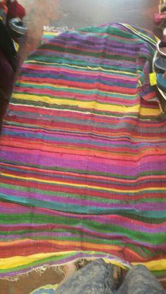 Mexican rag rug £15 kitsch brighton shop