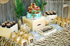 Safari Birthday party 7 year old girl | Safari themed birthday party - Safari Excursion - Birthday Party Ideas