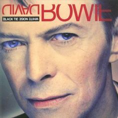 "David Bowie "" The wedding "" Album "" Black tie white noise "" Sortie avril 1993 Label ARISTA SAVAGE Dix-huitième album studio Brixton, David Bowie Suffragette City, David Bowie Album Covers, Black Tie White Noise, Pochette Album, Blues, The Thin White Duke, Ziggy Stardust, Disneyland"
