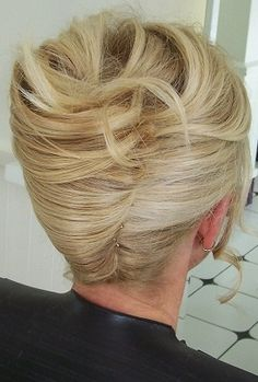 Simple yet sophisticated! Bridal Hair up-do