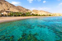 Golf von Akaba im Jordanien Reiseführer http://www.abenteurer.net/3681-jordanien-reisefuehrer/