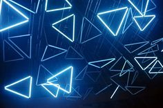 Neon triangles